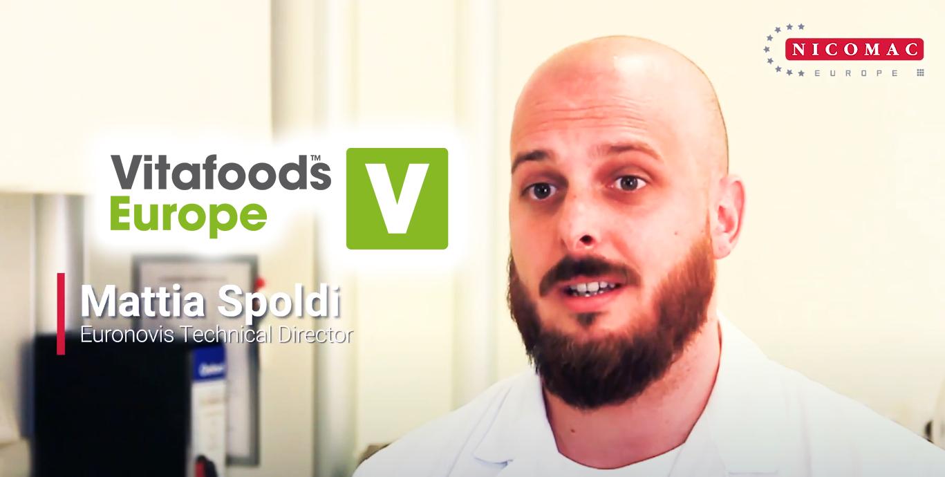 Mattia Spoldi talks about VitaFoods 2021
