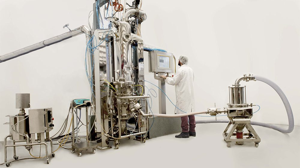 High quality granulation systems