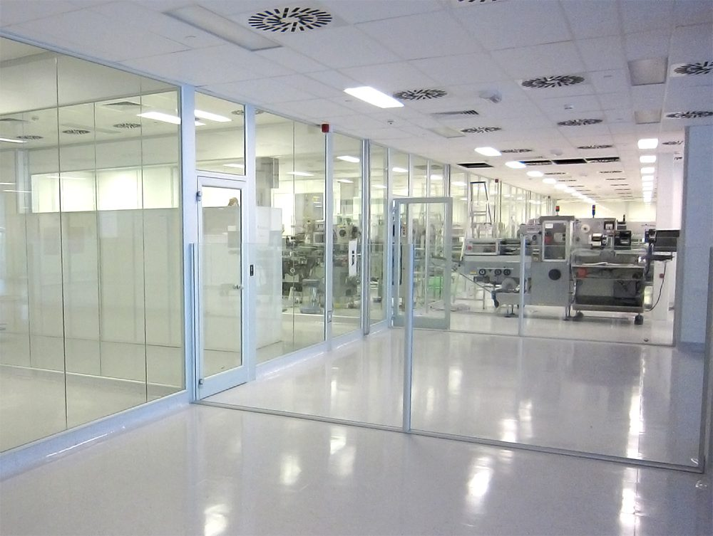 Cleanrooms Modular Glass Walls Full Visibility Nicomac