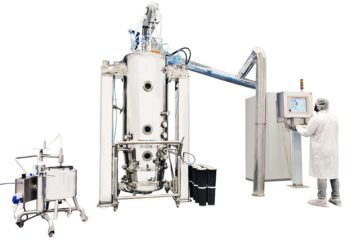 Nicomac fluid bed technology for pharmaceutical industry