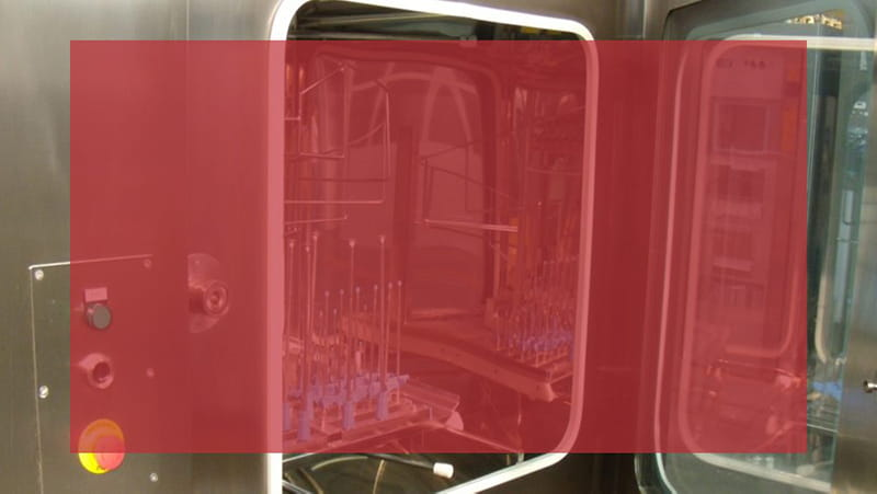 Washing and sterilizing equipment